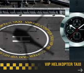 vip helikopter taxi